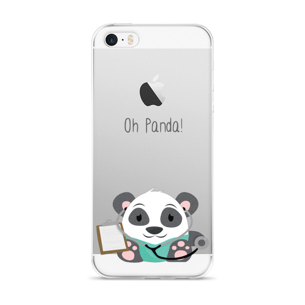 Doctor Panda - iPhone 5/5s/Se, 6/6s, 6/6s Plus Case