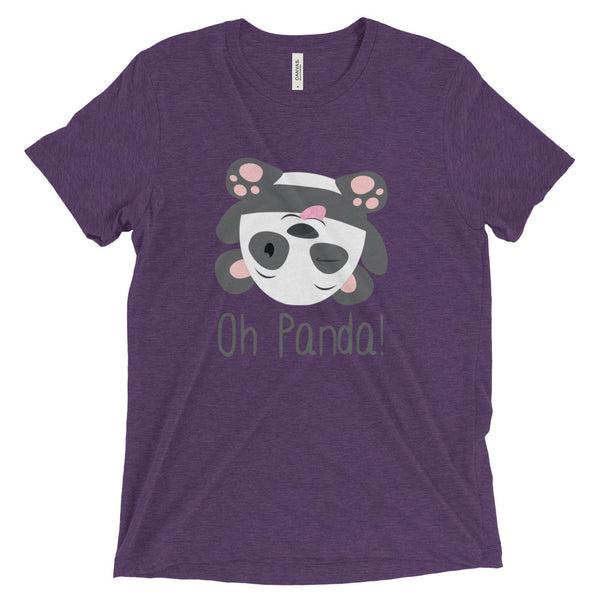 Purple Loose T-Shirt - Silly - Oh Panda!