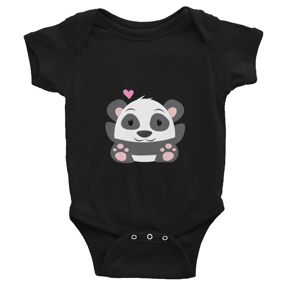 Oh Panda - Baby short sleeve one-piece