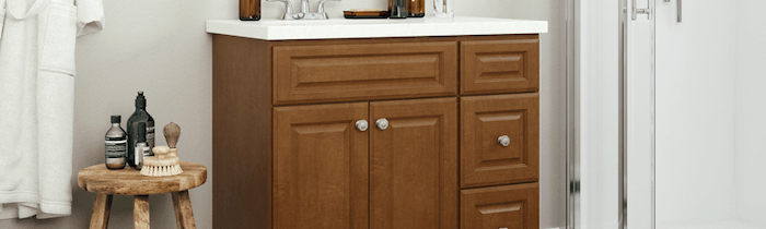 JSI Cabinetry Premier Series Vanities - Quincy Brown-Wholesale Cabinet Supply