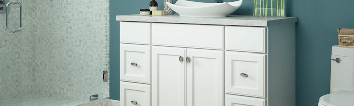 JSI Cabinetry Premier Series Vanities - Plymouth White-Wholesale Cabinet Supply