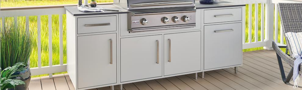 Wolf Endurance - Flat White Outdoor Cabinets