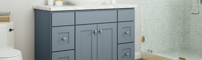 JSI Cabinetry Designer Series Vanities - Dover Castle-Wholesale Cabinet Supply