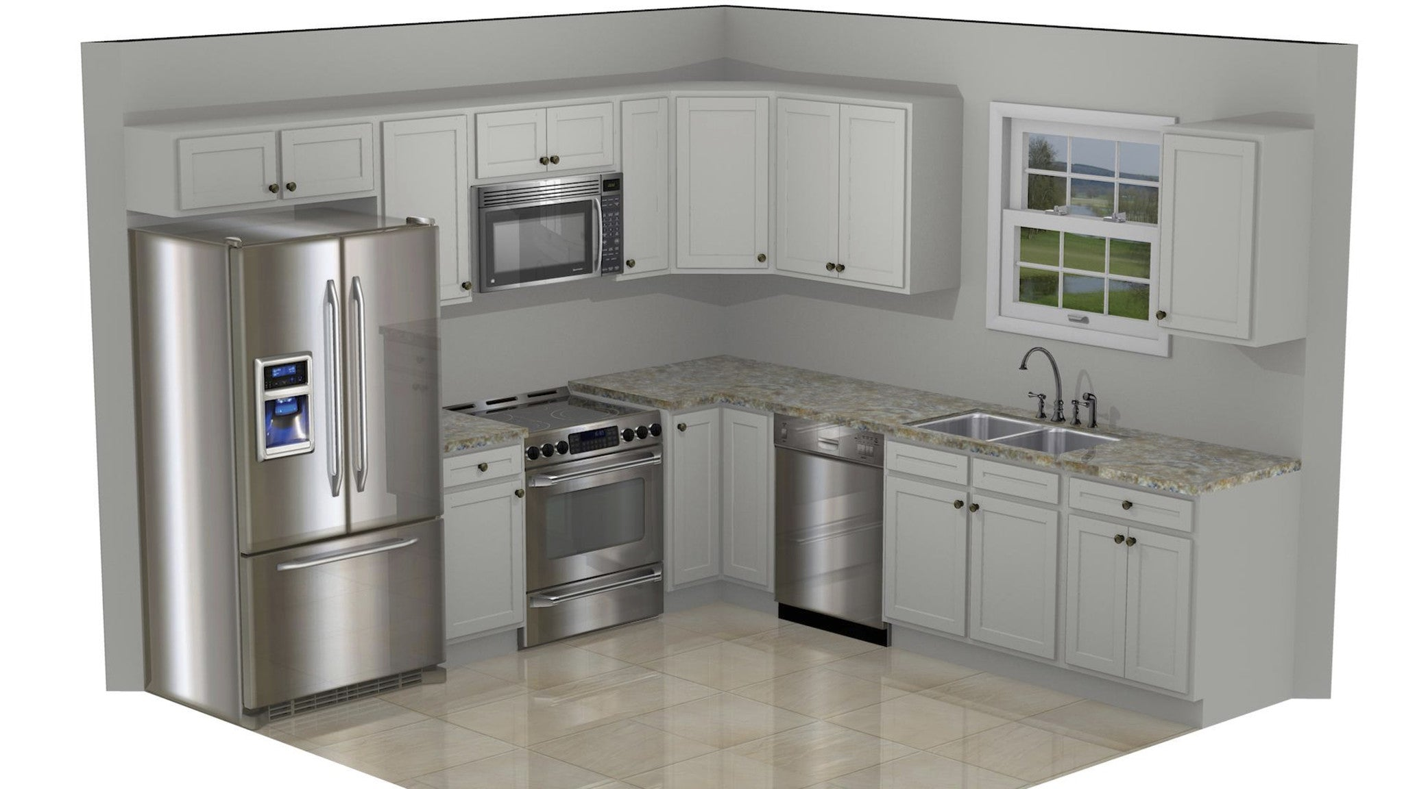 What is a 10x10 kitchen? – Wholesale Cabinet Supply