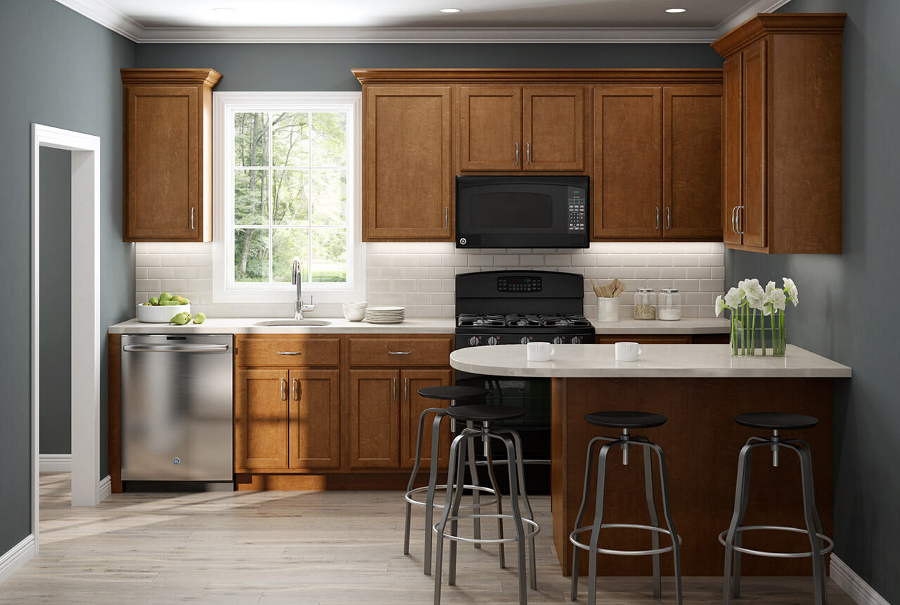 Click To Shop Our Craftsman Series Kitchen Cabinets