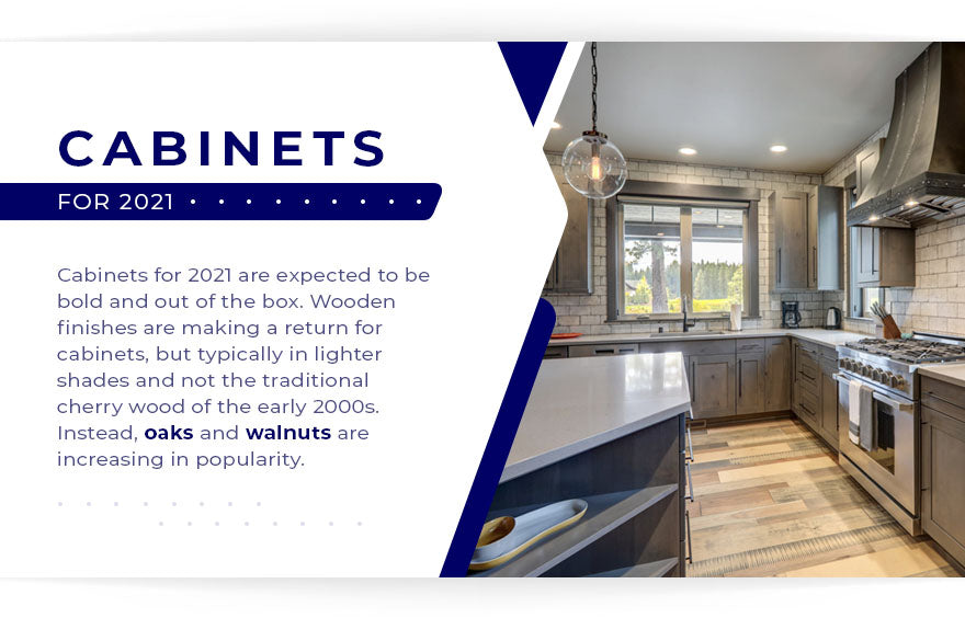Cabinets for 2021 kitchen