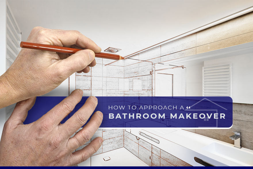 how to approach bathroom makeover