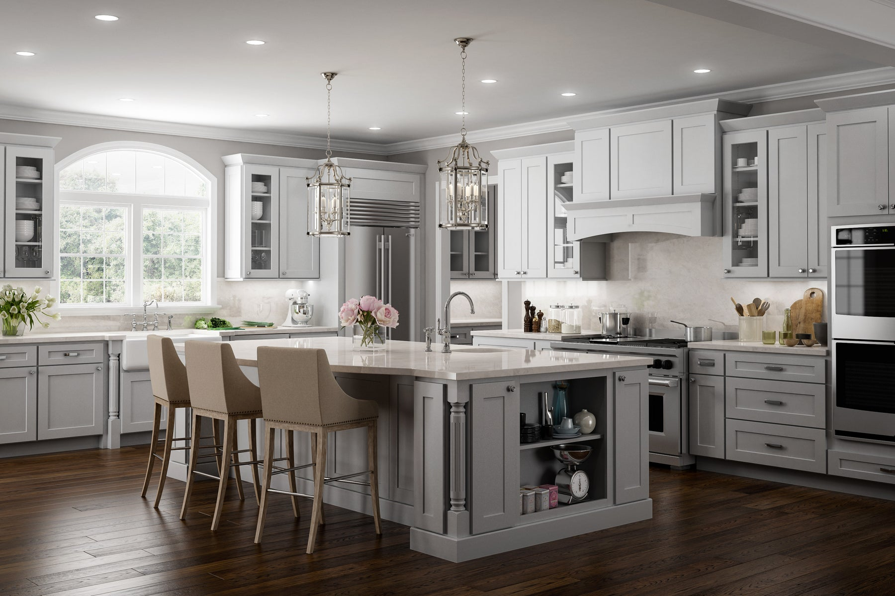 Click To Shop Our Designer Series Kitchen Cabinets