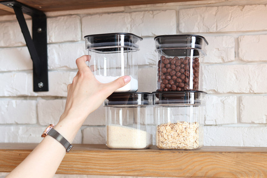 storage of cereals and sugar in home