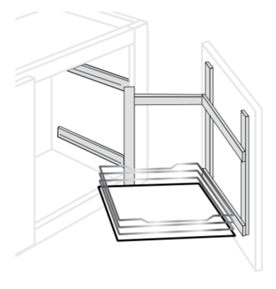 APPPULL - Upton Brown - Above Fridge Pull Out
