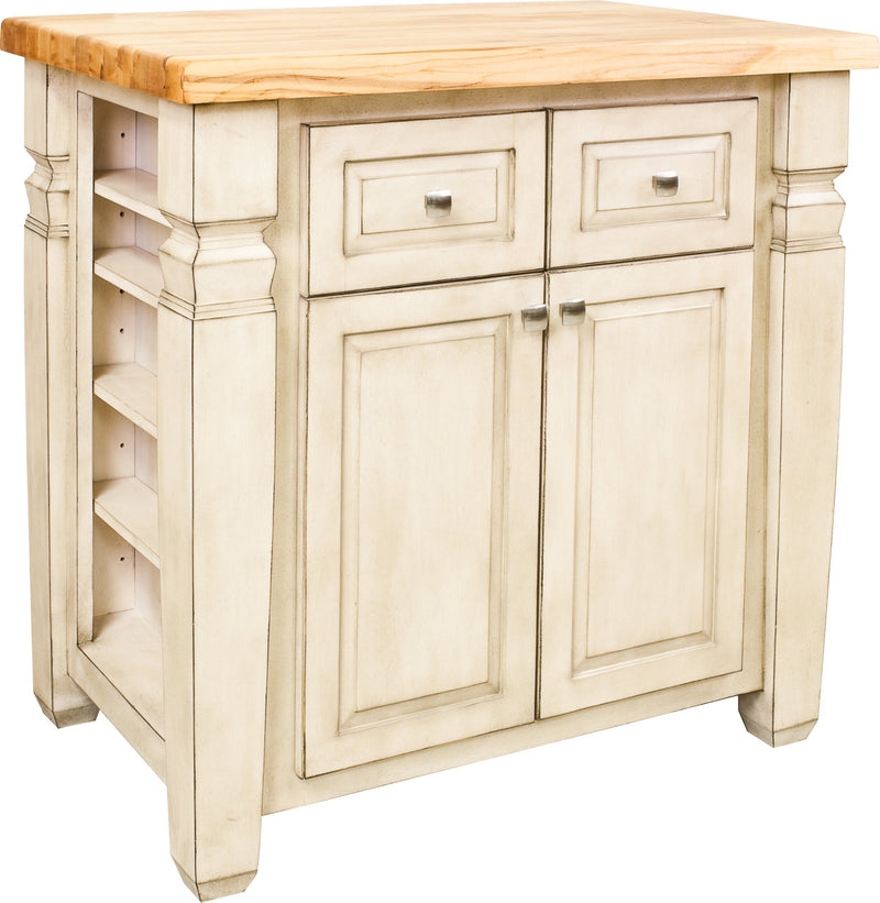 Butcher Block Jeffrey Alexander Kitchen Island Top