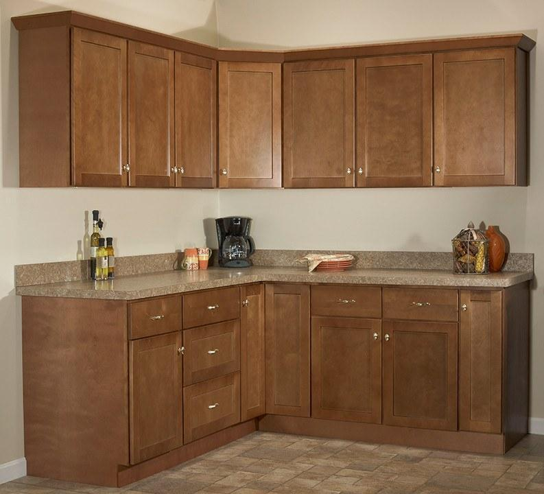 SD - Amesbury Brown - Sample Door - Wholesale Cabinet Supply Kitchen and Bath Cabinetry from JSI Cabinetry Premier Series