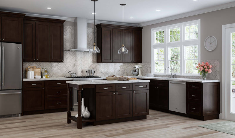 SD - Branford Slab/Recessed - Sample Door - Wholesale Cabinet Supply Kitchen and Bath Cabinetry from JSI Cabinetry Designer Series