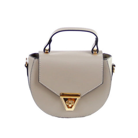 SERAFINA - WING LEATHER SHOPPER BAG
