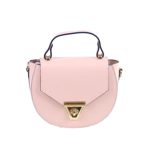 EMELIA - STUD LEATHER BUCKET BAG