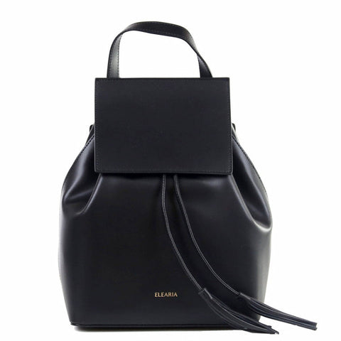 ADRIANNA - LEATHER BUCKET BAG