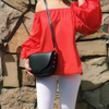 GINA - LEATHER CROSSBODY BAG