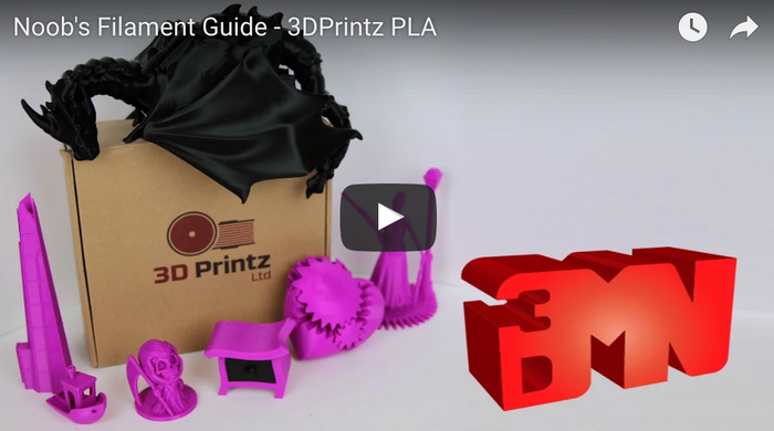 3D Maker Noob Review: 3D Printz PLA