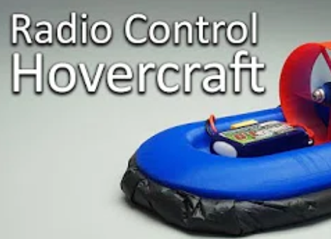 3D Printed RC Hovercraft!