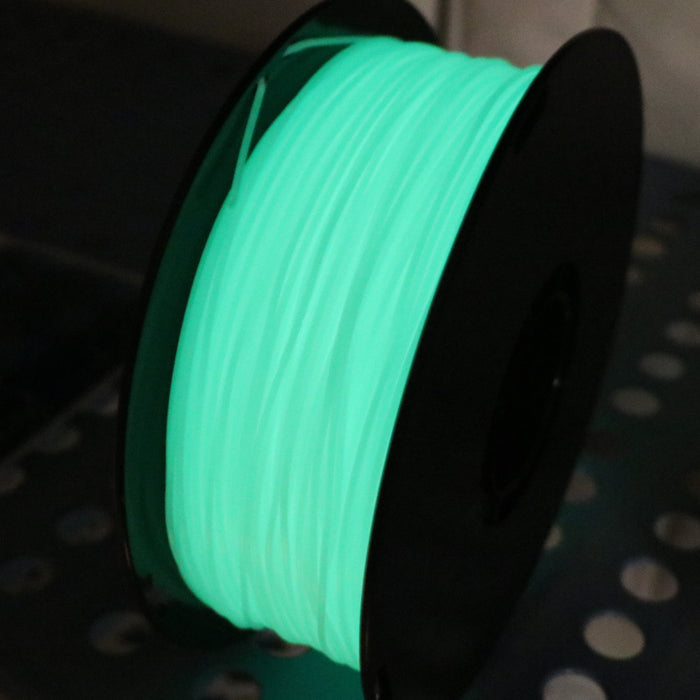 PLA 1.75mm Glow In The Dark Green
