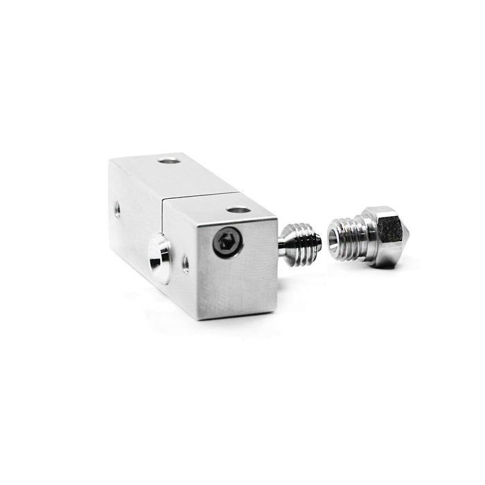Micro Swiss MK10 All Metal Hotend Kit w/ Slotted Cooling Block for Wanhao i3