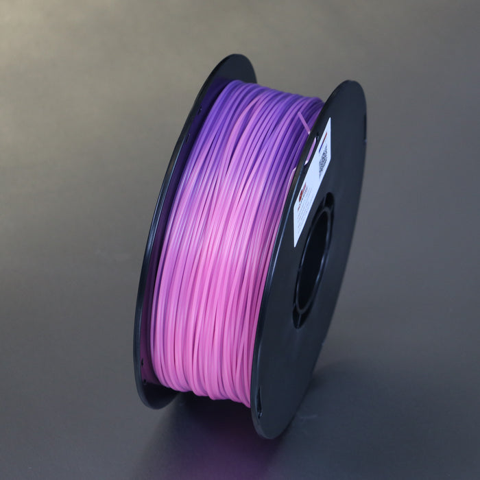 PLA Colour Change Black - Purple - Red - 1.75mm