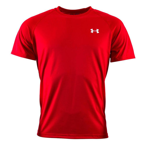 Red Under Armour Men's Fitness T-Shirt