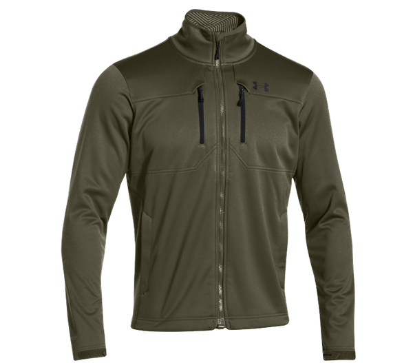 Greenhead/Black Under Armour Men's Jacket