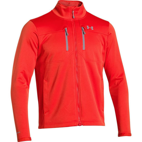 Fuego/Steel Under Armour Men's Jacket