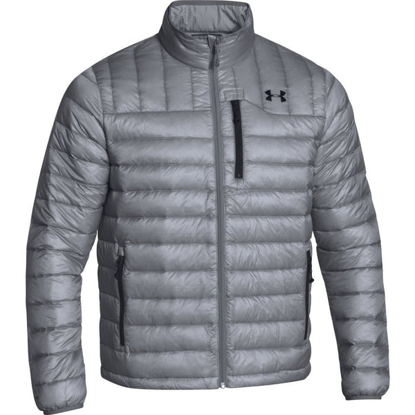 Steel/Black Under Armour Men's Jacket