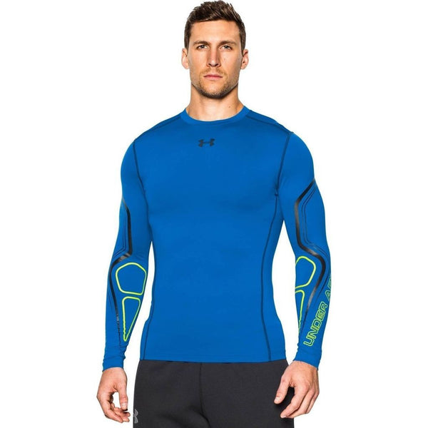 Blue Jet/Black Under Armour Men's Compression Shirt