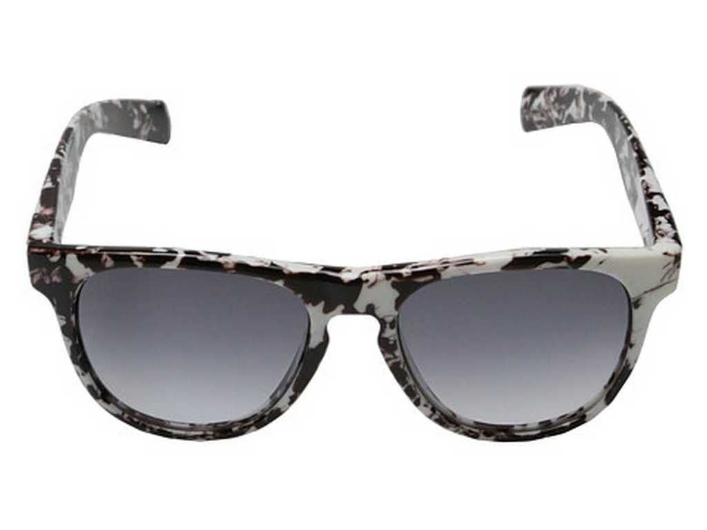 Shiny White Marble/Grey Gradient Under Armour Men's Sunglasses
