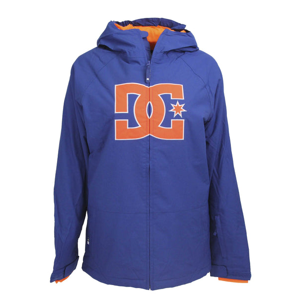 Mazrine Blue/Shocking Orange  Boy's Jacket