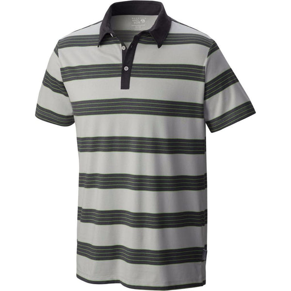 Grey Ice Mountain Hardwear Men's Polo Shirt