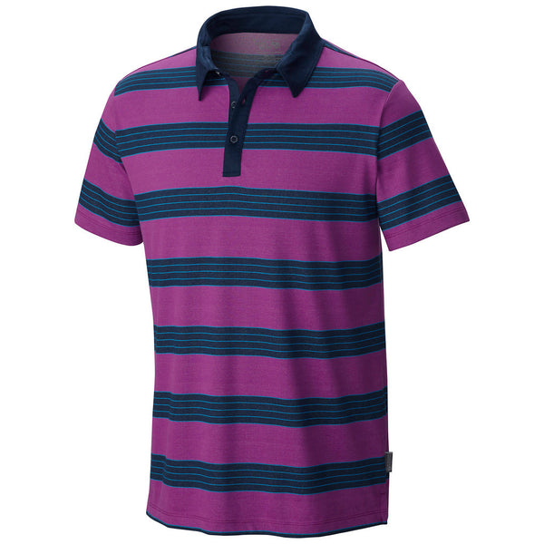 Berry Jam Mountain Hardwear Men's Polo Shirt