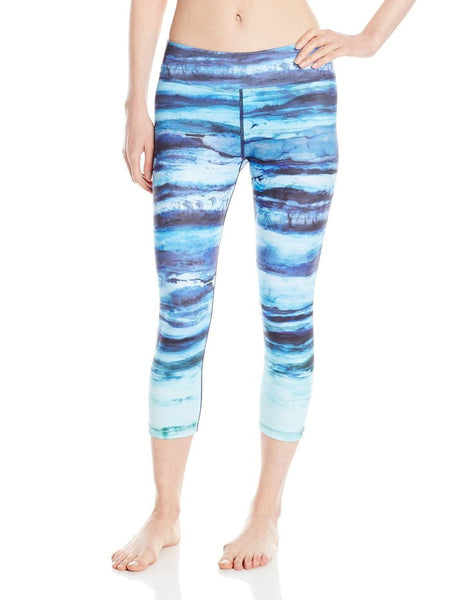 Teal Tide PrAna Women's Fitness Pants
