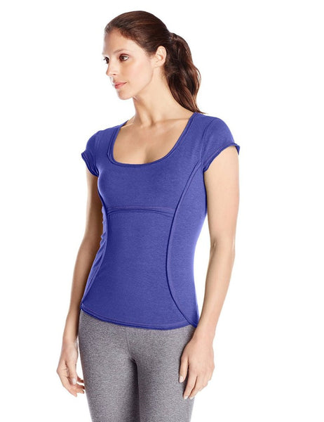 Sail Blue PrAna Women's Fitness Shirt