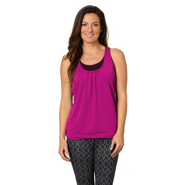 Black Plum PrAna Women's Fitness Shirt