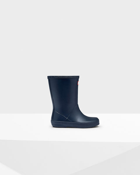 Navy Hunter Youth Boots