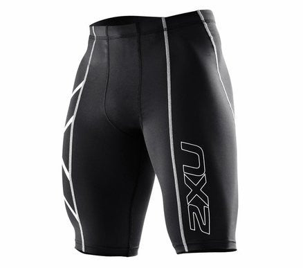 Black/Black 2XU Men's Shorts