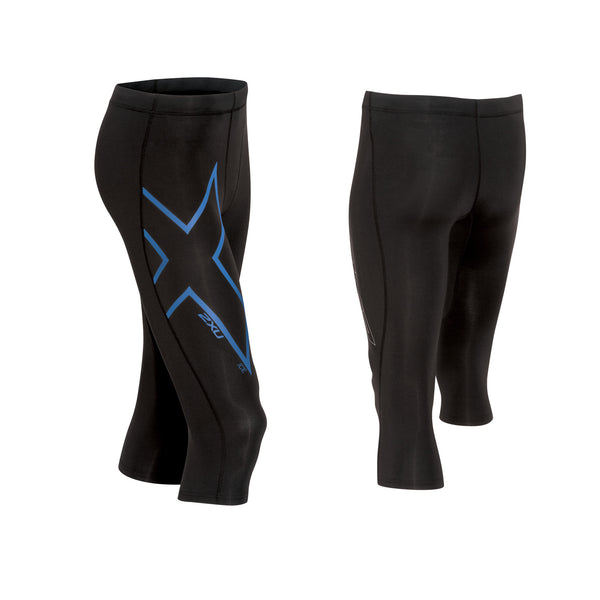 Black/Cool Blue 2XU Men's Pants