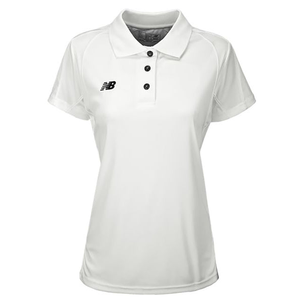 White New Balance Women's Polo Shirt
