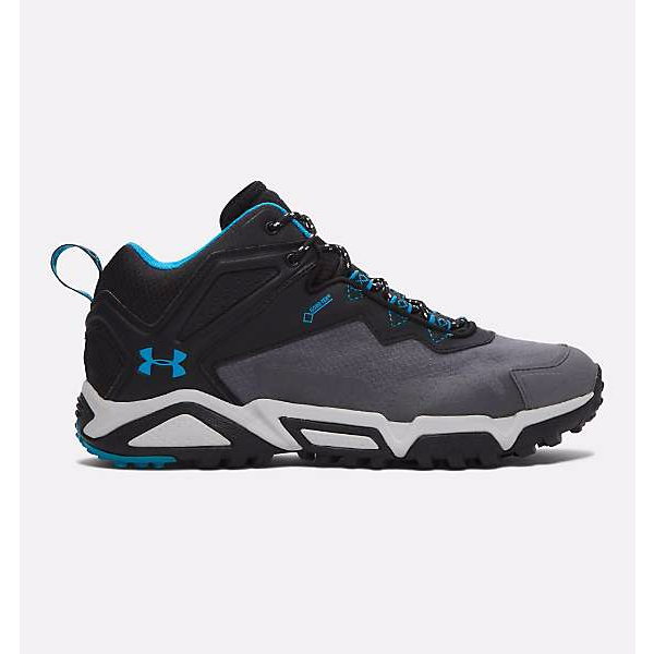 Black/Graphite/Blue Heat Under Armour Men's Shoes
