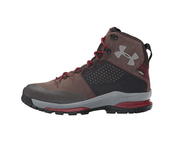 Maverick Brown/Cardinal/Steel Under Armour Men's Shoes