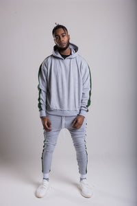 Panel Joggers - Boston Grey