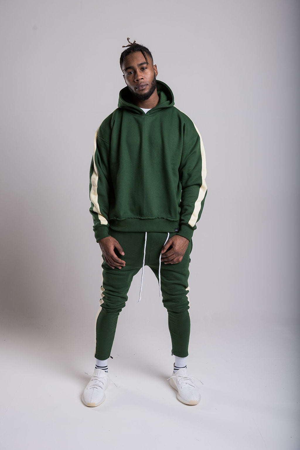 Panel Joggers - Boston Green