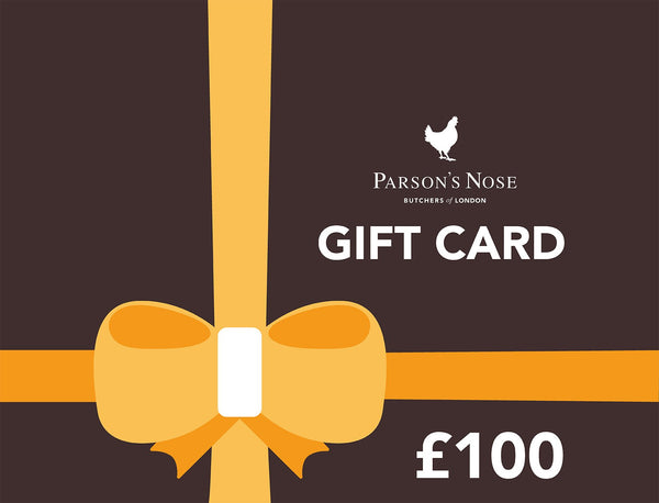 Gift Card £100.00 GBP E-Gift Card  £100 (For Online Use Only) for sale - Parsons Nose