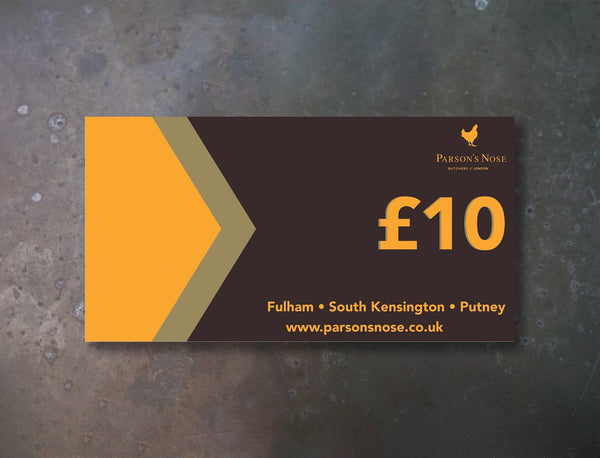 Gift Card Gift Card £10 (In Store ONLY) for sale - Parson's Nose