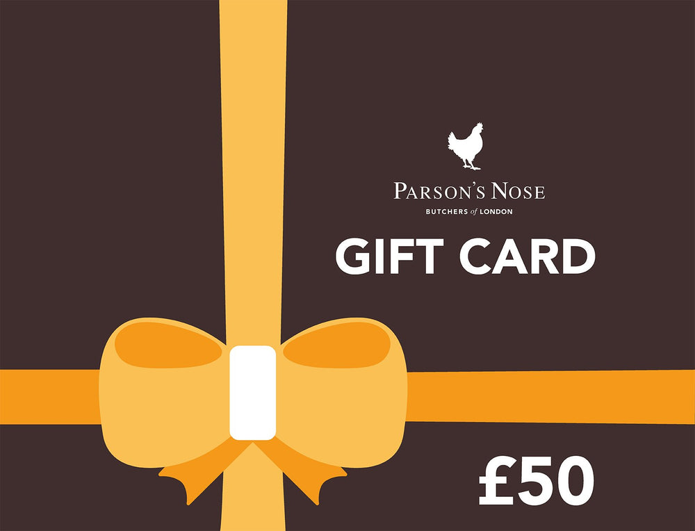 Gift Card £50.00 GBP E-Gift Card  £50 (For Online Use Only) for sale - Parsons Nose