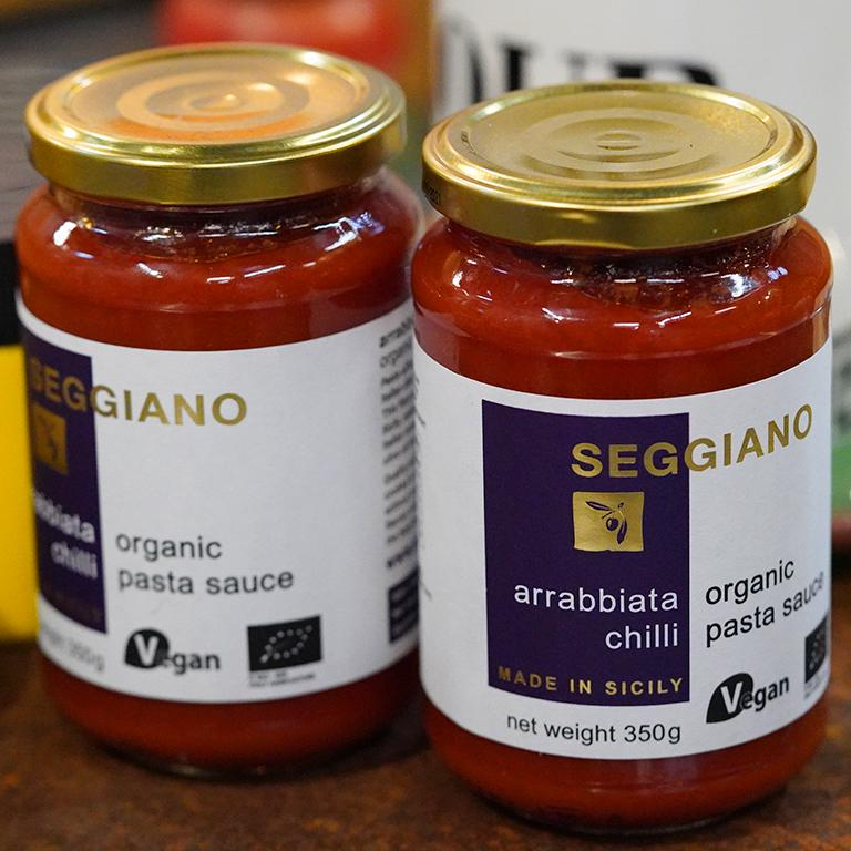 Seggiano Arrabbiata Chilli Pasta Sauce for sale - Parsons Nose